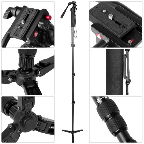 Kingjoy-Monopod-Videokopf-MP4008 (17)