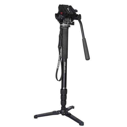 Monopod-MP4008-und Videoneiger-VT3510-Kingjoy (1)