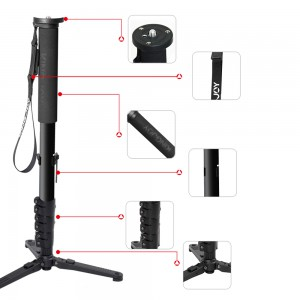 Monopod MP3008 Kingjoy aus Aluminium